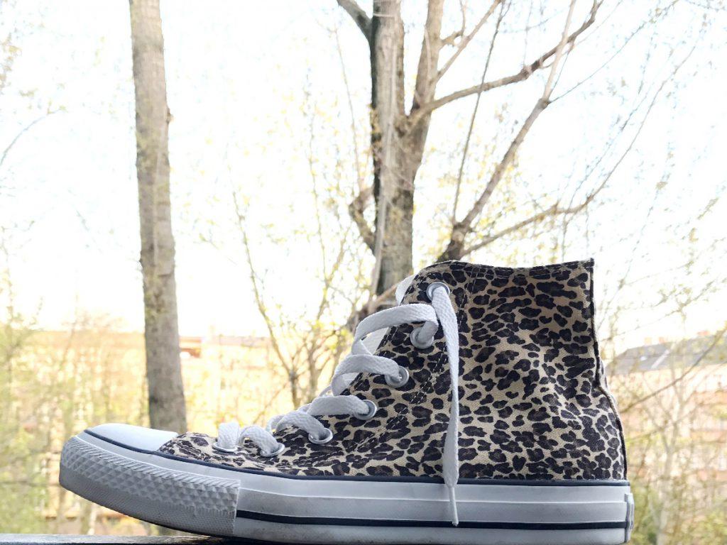 Chucks im Leoparden Look