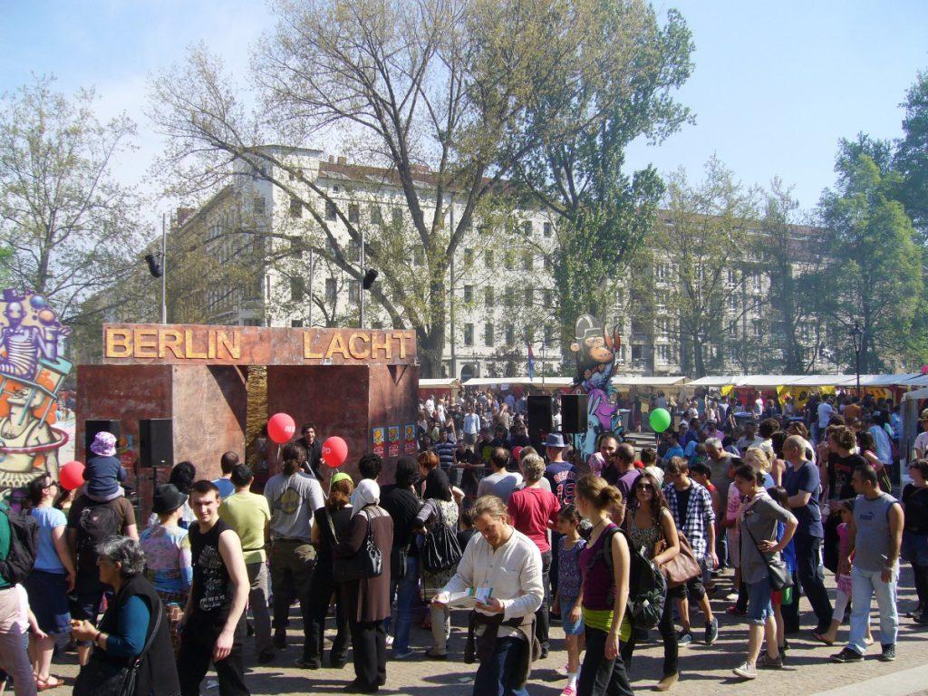 Berlin lacht! auf dem MyFest