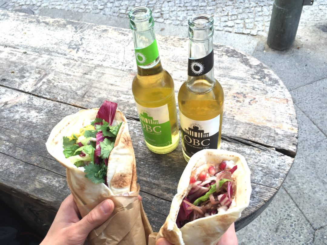Burritos und Cider vom Street Food Thursday