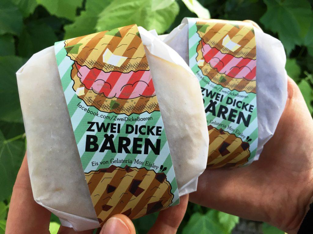Eis-Burger vom Street Food Thursday