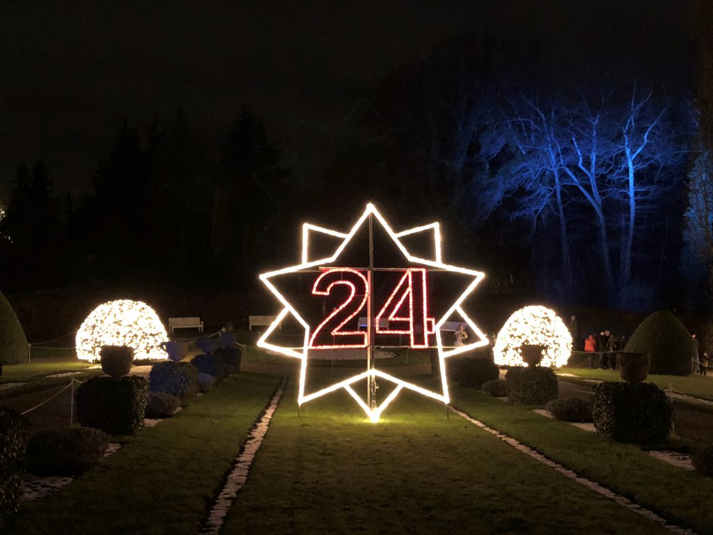 Adventskalender im Christmas Garden
