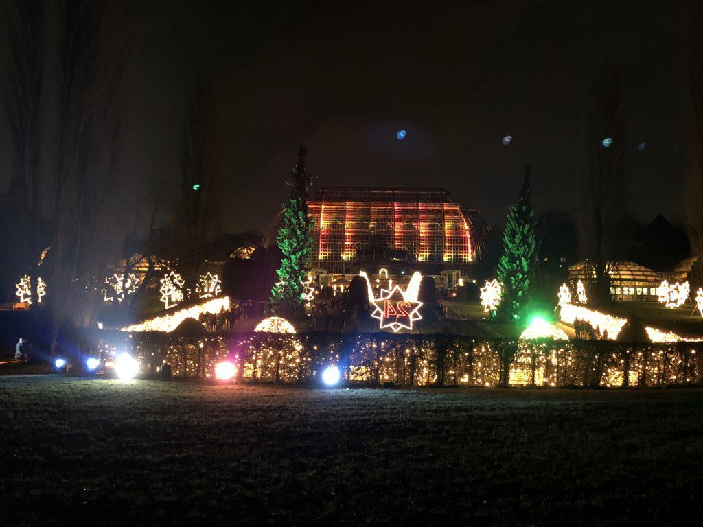 Tropenhaus im Christmas Garden