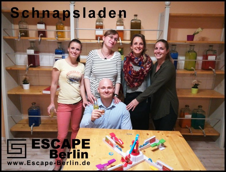 Escape Berlin Schnapsladen