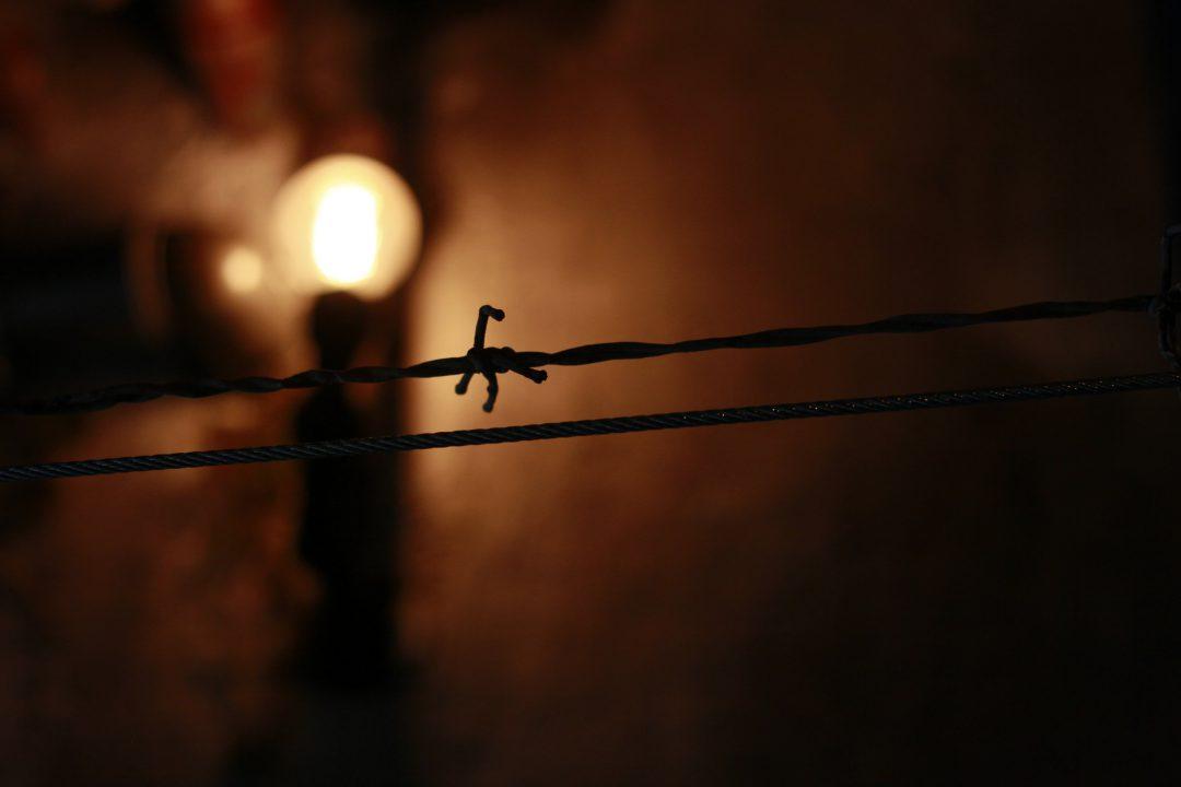 Lampe im Gefängnis