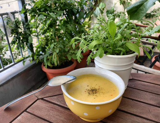 Mango-Kokos-Suppe