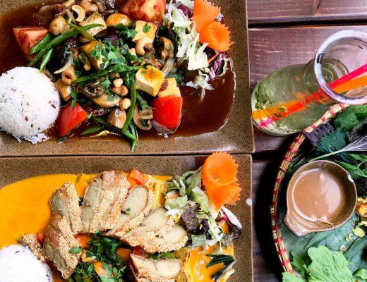 Asiatische Curry Gerichte