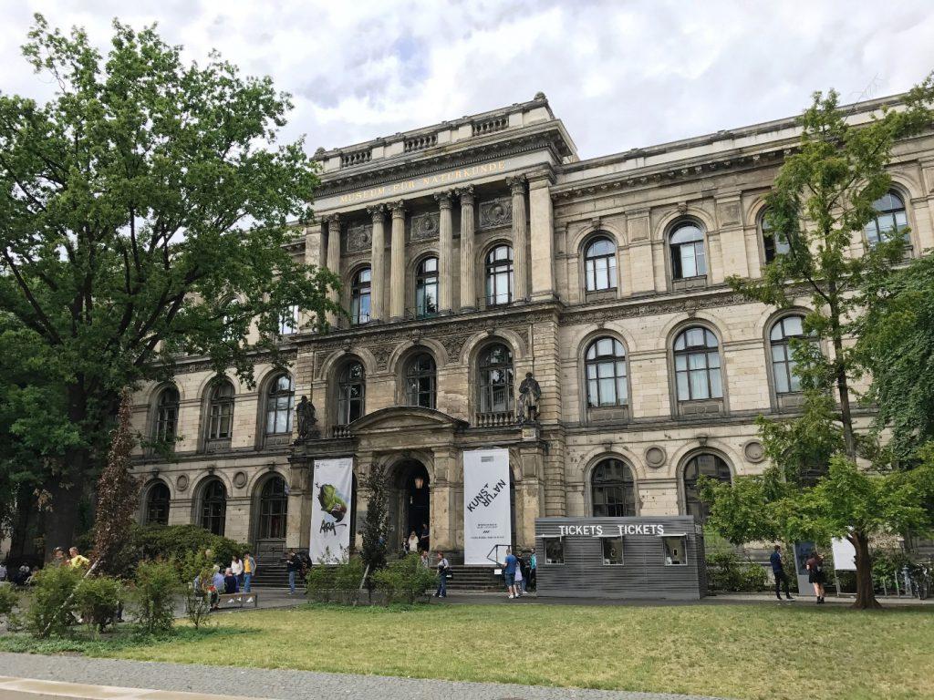 Naturkundemuseum Berlin von außen
