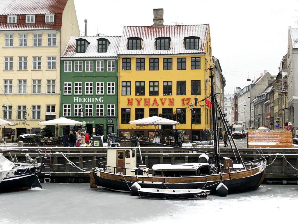Bunte Häuser in Nyhavn/Kopenhagen