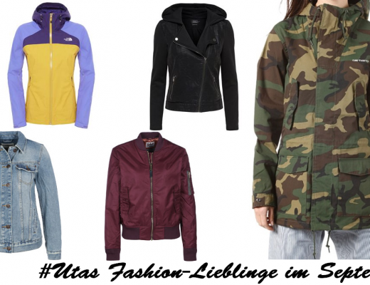 Utas Fashion-Lieblinge im September