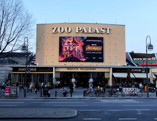 Fassade des Berliner Kinos Zoo Palasts
